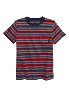 Vans Knollwood Stripe T-Shirt (Big Boy)