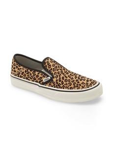 Vans Leopard Print Slip-On Convertible Sneaker (Men)