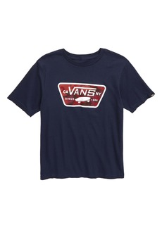 Vans Logo Graphic T-Shirt (Big Boys)