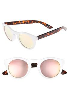 Vans Lolligagger 47mm Round Sunglasses