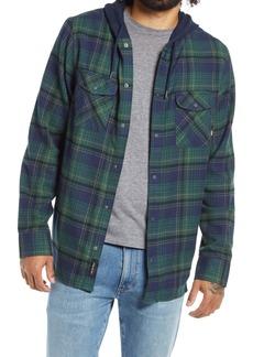 Vans Men's Parkway Plaid Flannel Hooded Shirt Jacket