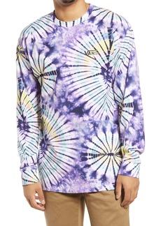 Vans Men's Tie Dye Burst Long Sleeve T-Shirt