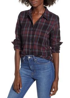 Vans Meridian Boyfriend Fit Flannel Shirt