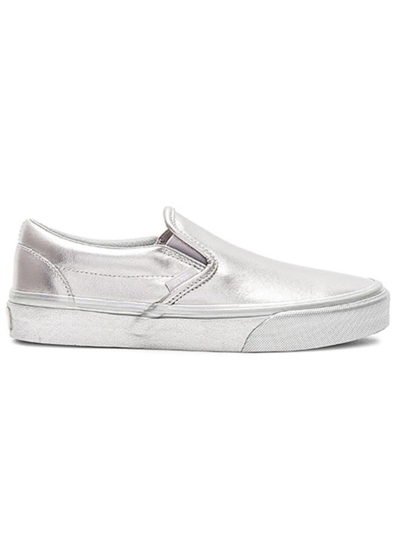 df2c10040f555 SALE! Vans Vans Metallic Sidewall Classic Slip-On Sneaker