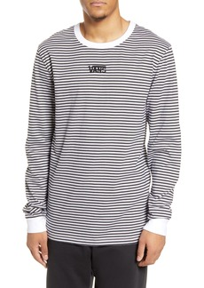 Vans Microstripe Embroidered Long Sleeve T-Shirt