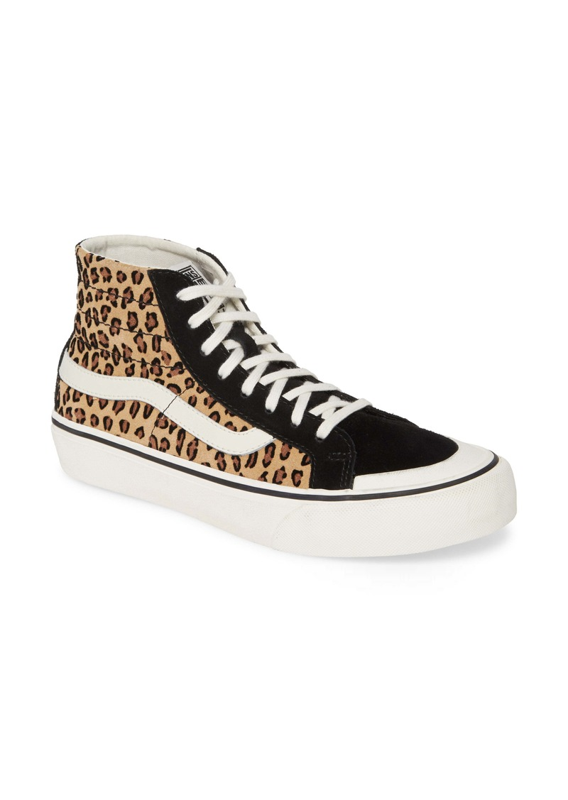 Vans Mini Leopard Sk8-Hi 138 Decon SF Sneaker (Women)
