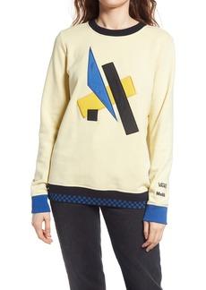 Vans MoMA Lyubov Popova Graphic Ringer Sweatshirt