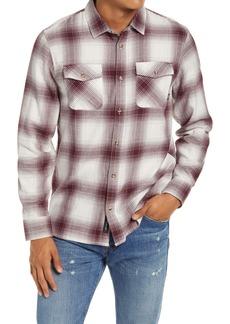 Vans Monterey III Plaid Button-Up Shirt
