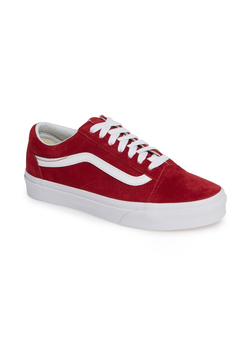 Vans Old Skool Suede Low Top Sneaker (Women)
