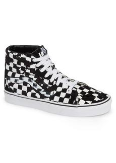 Vans Overprint Check Sk8 Hi Sneaker (Men)