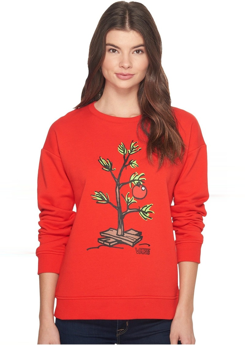b0deaea48a Vans Vans Peanuts Christmas Tree Crew