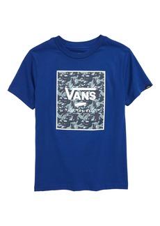 Vans Print Box Graphic Tee (Big Boy)