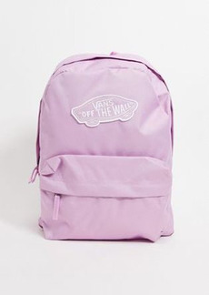 Vans Realm Backpack in purple