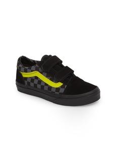 Vans Reflective Checkerboard Old Skool V Sneaker (Baby, Walker, Toddler, Little Kid & Big Kid)