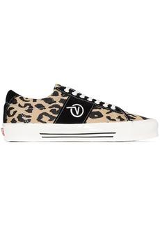 Vans Sid LX leopard print sneakers