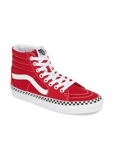Vans Sk8-Hi Check Foxing Sneaker (Women)