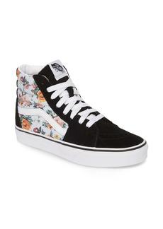 Vans Sk8-Hi Checker Floral High Top Sneaker (Women)