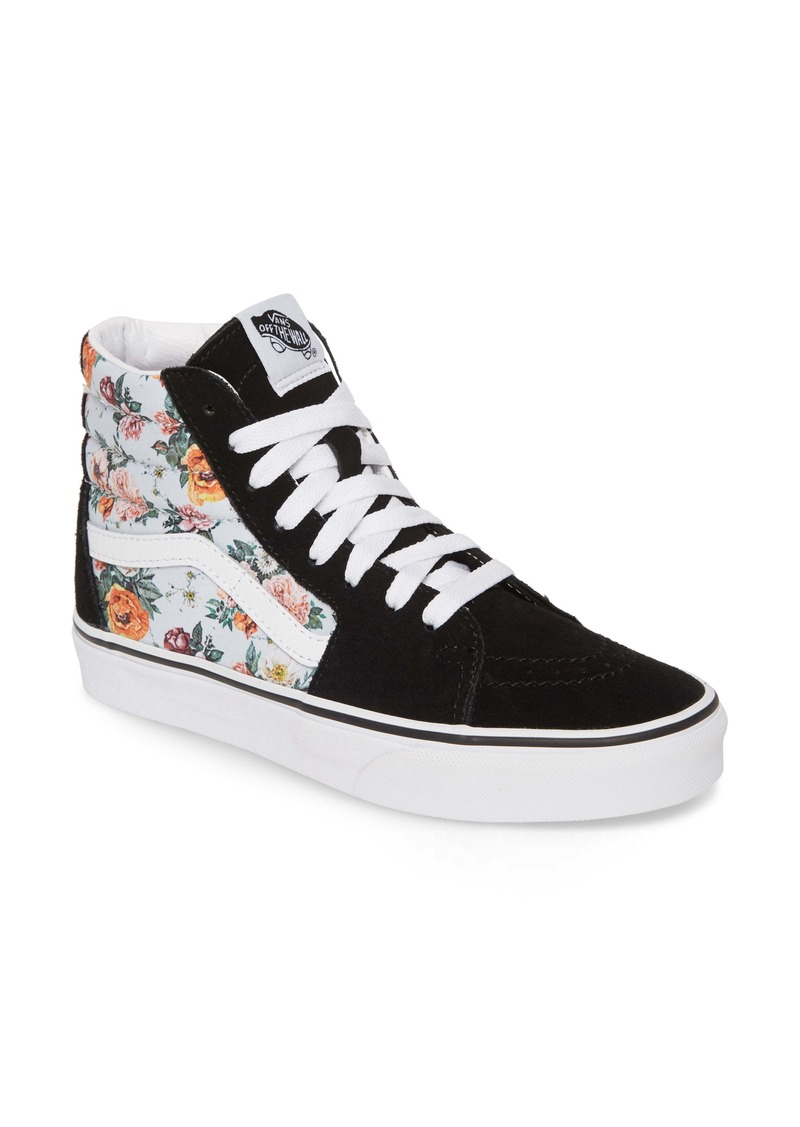 Vans Sk8-Hi Checker Floral High Top Sneaker (Women)