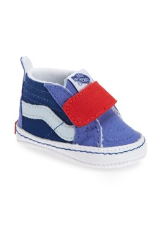 Vans Sk8-Hi Colorblock Crib Sneaker (Baby)