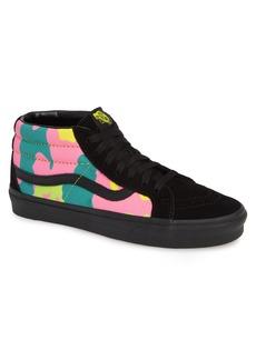 Vans Sk8 Mid Reissue Neon Camo Sneaker (Men)