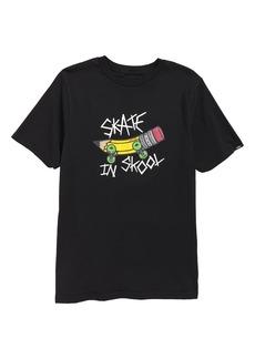 Vans Skate in Skool T-Shirt (Big Boys)