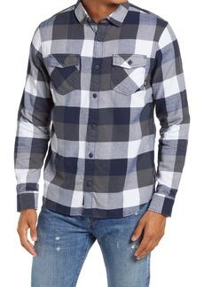Vans Slim Fit Buffalo Check Flannel Button-Up Shirt