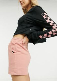 Vans Strait Out shorts in pink