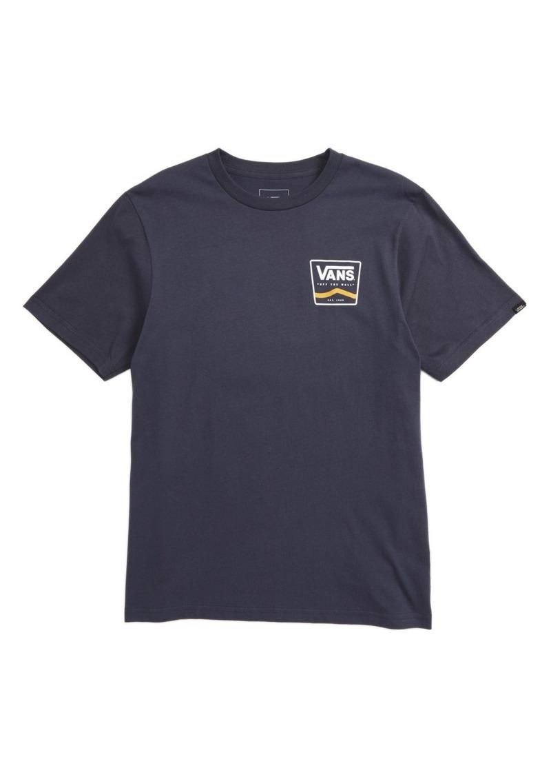 Vans Stripe Graphic T-Shirt (Big Boys)