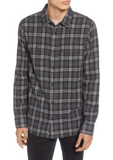 Vans Sycamore Classic Fit Plaid Button-Up Flannel Shirt