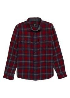 Vans Sycamore Plaid Flannel Shirt (Big Boys)