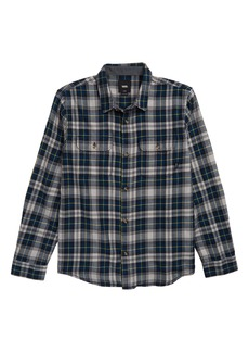 Vans Sycamore Plaid Flannel Shirt (Toddler Boys & Little Boys)