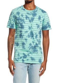 Vans Tie Dye Checker Stripe Pocket T-Shirt