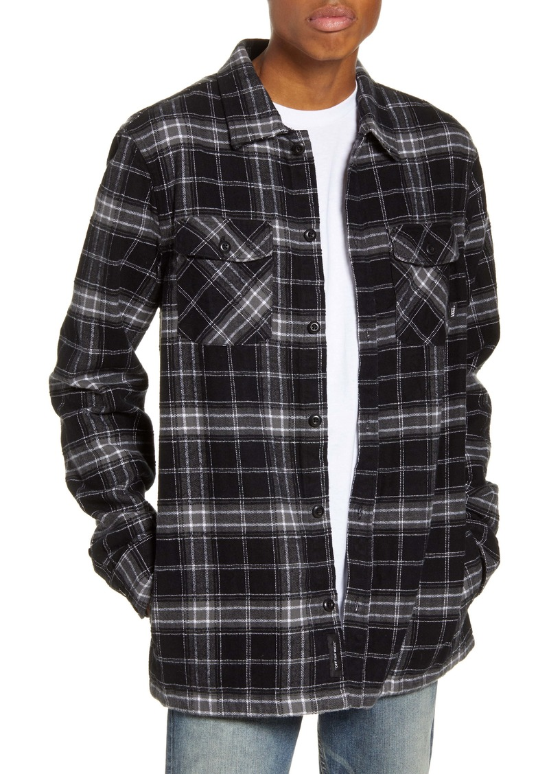 Vans Tradewinds Plaid Cotton Shirt Jacket