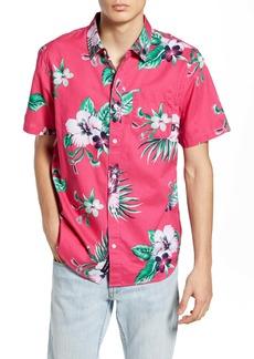 Vans Trap Floral Short Sleeve Button-Up Shirt