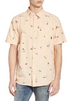 Vans Tres Palmas Short Sleeve Shirt