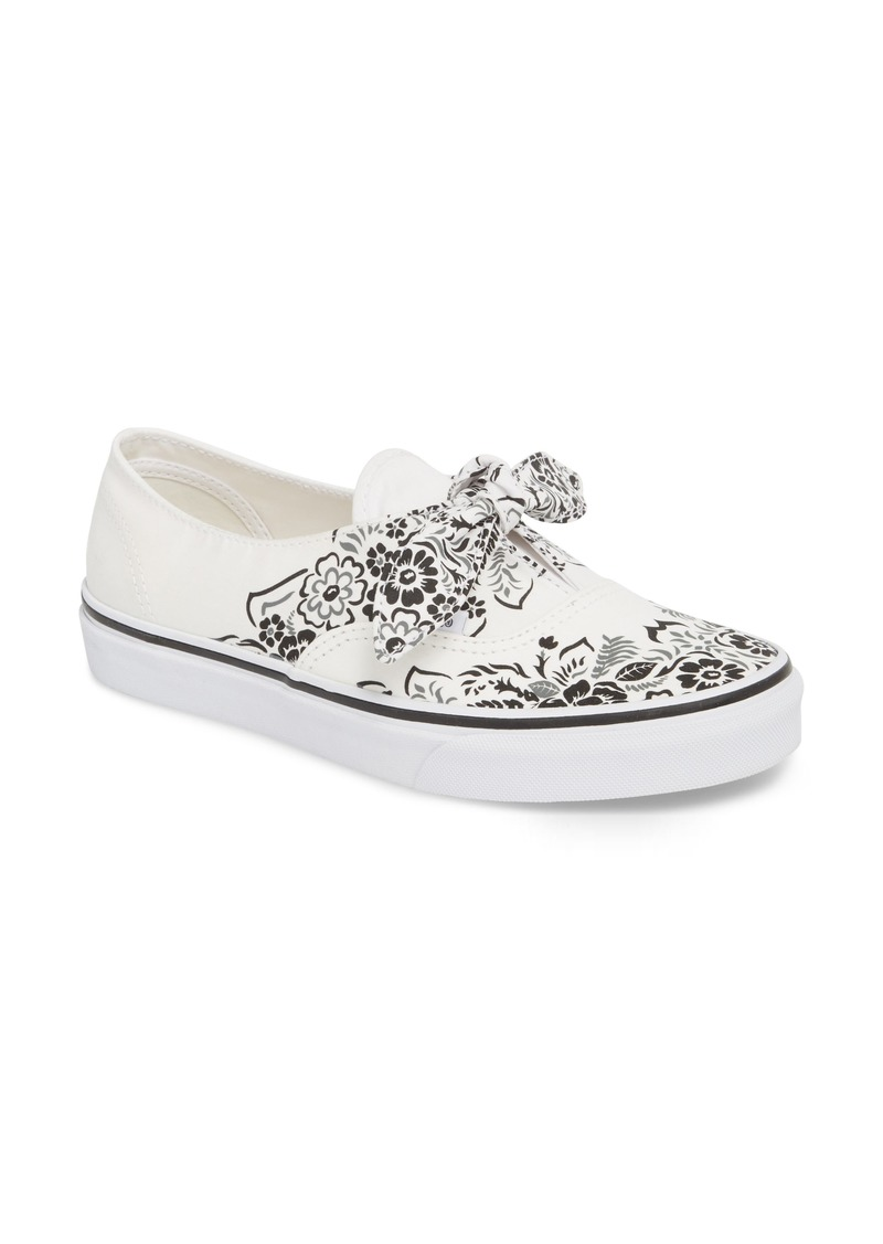1811898ee6 Vans Vans UA Authentic Knotted Floral Bandana Slip-On Sneaker (Women ...