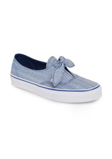 Vans UA Authentic Knotted Lace Chambray Sneaker (Women)