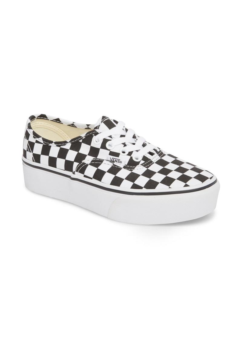 154d45d24c Vans Vans UA Authentic Platform 2.0 Sneaker (Women)