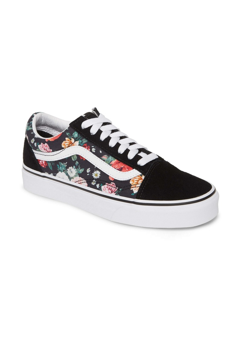 Vans UA Old Skool Lux Floral Sneaker (Women)