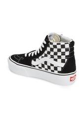 8754ed824fbea7 Vans Vans UA Sk8-Hi Platform Checkerboard Sneaker (Women)