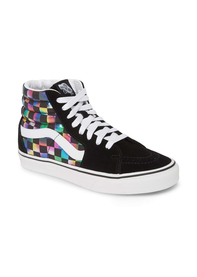 Vans UA Sk8 Iridescent High Top Sneaker (Women)