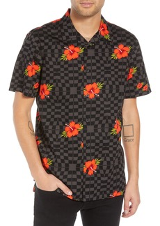 Vans Warp Tropic Checks Camp Shirt