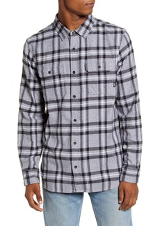Vans Westminster Classic Fit Plaid Button-Up Flannel Shirt