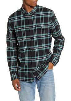 Vans Westminster Plaid Button-Up Flannel Shirt