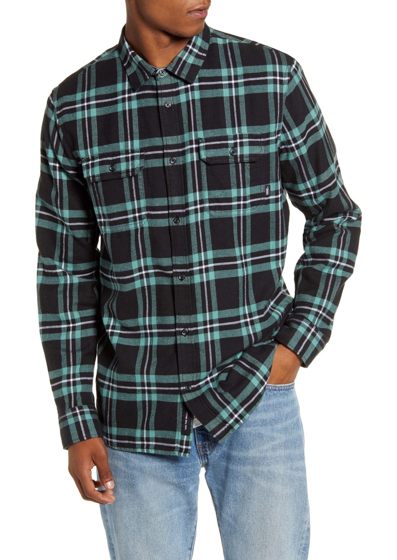 Vans Westminster Plaid Button-Up Flannel Shirt