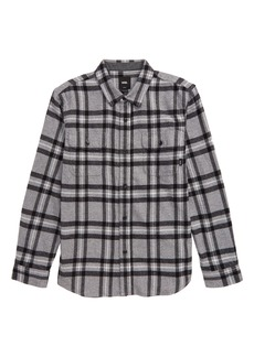 Vans Westminster Plaid Flannel Button-Up Shirt (Big Boys)