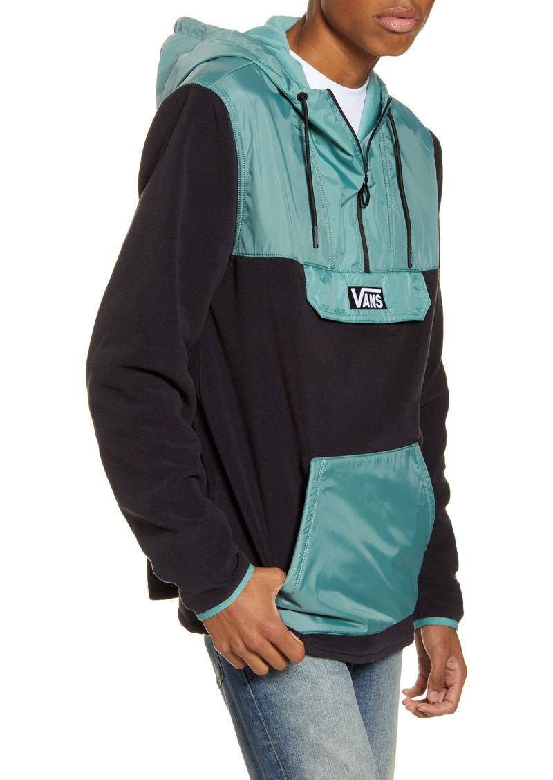 Vans Windward Hooded Fleece & Nylon Anorak