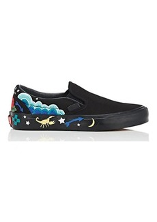 Vans Women's Women's Classic Slip-On Desert Embellish Sneakers