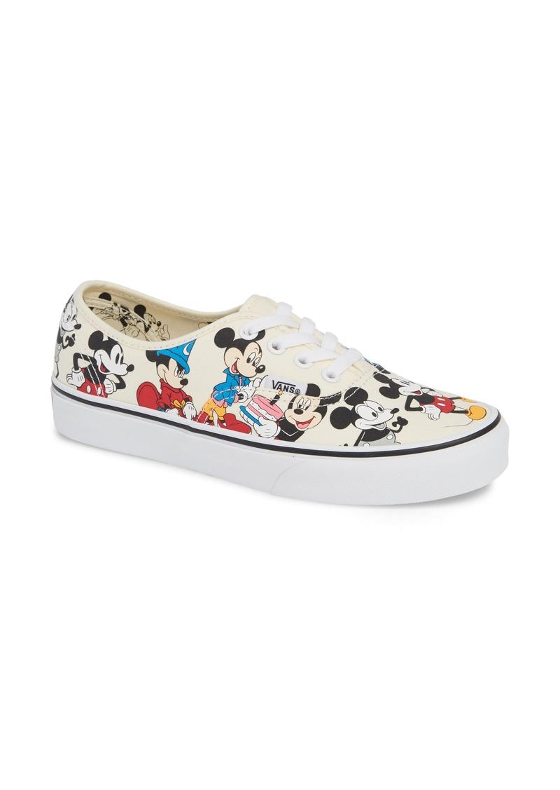 Vans x Disney UA Authentic Mickey Mouse Sneaker (Women)
