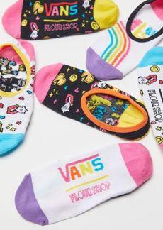 Vans x FLOUR SHOP Canoodle No-Show Liner Sock 3-Pack